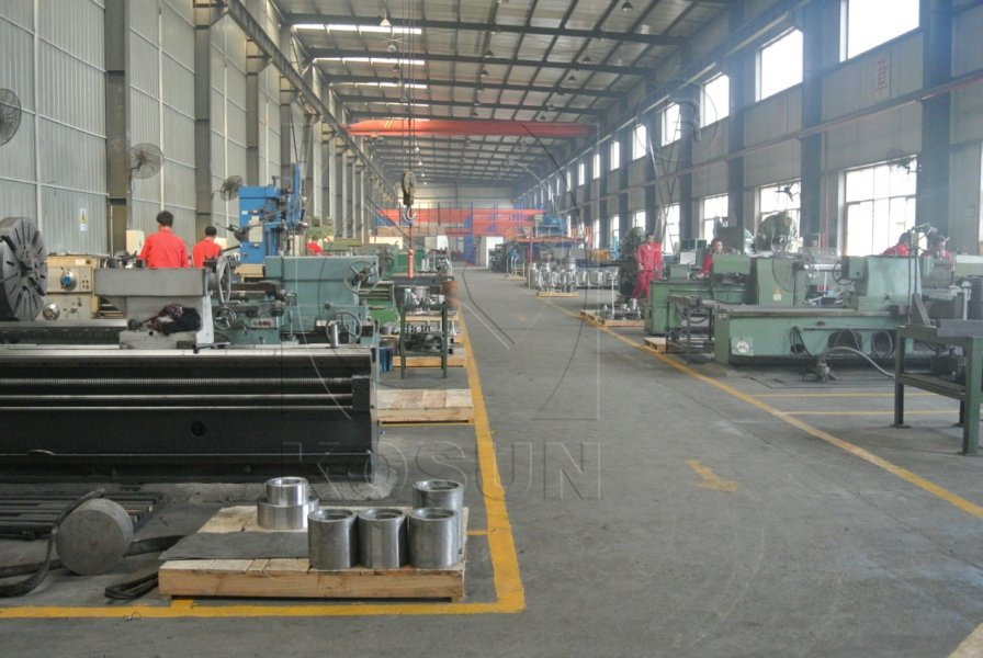 Picture of workshops in KOSUN' s Production Plant in Jingwei Industrial Park