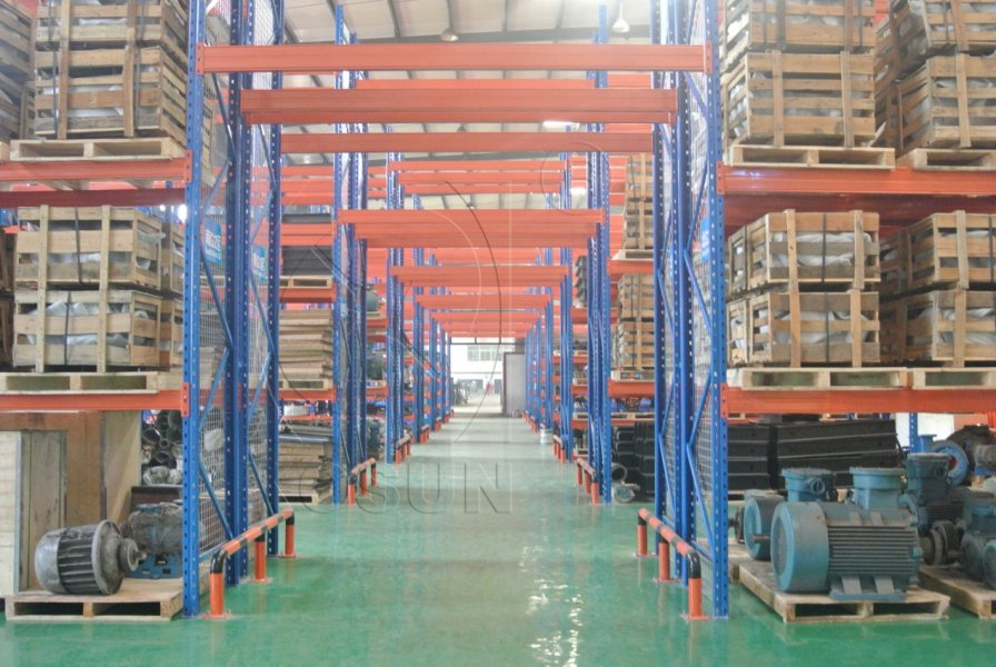 Picture of storehouses in KOSUN' s Production Plant in Jingwei Industrial Park