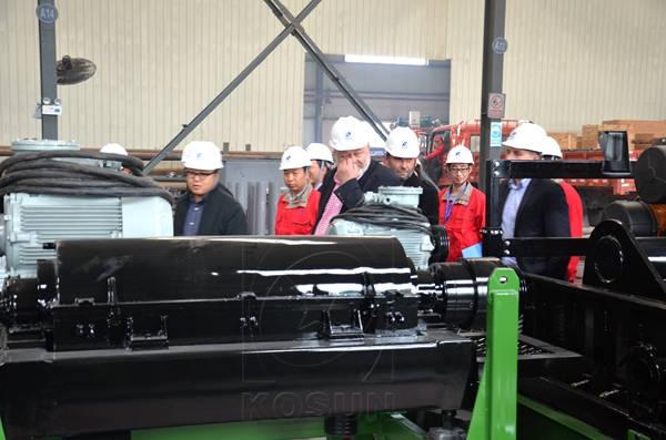 Clients Visiting KOSUN Factory