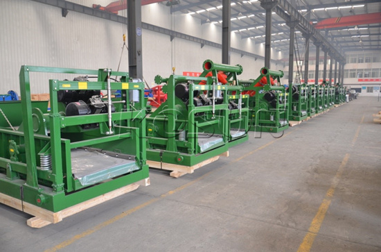 Production of KOSUN Shale Shakers and Mud Cleaners Completed