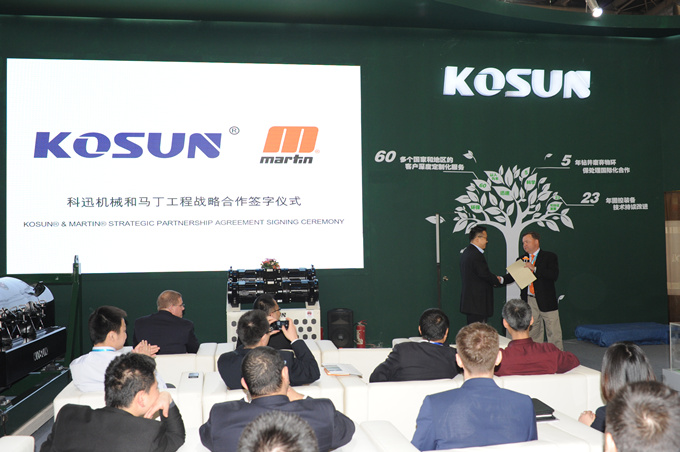 Martin Vice President Mr. Robert Issuing Authorization to KOSUN General Manager Mr. Geng Feng
