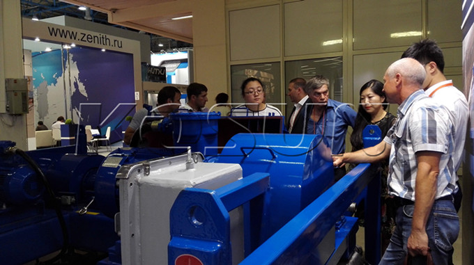 Foreign Customers are Visiting KOSUN Solids Control and Drilling Waste Management Equipment (I)