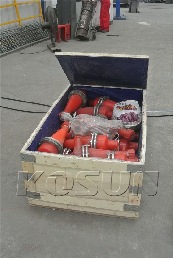 Accessories of Mud Cleaners Ready for Shipment I