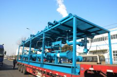 KOC solids control system for 9000 meters Rig case