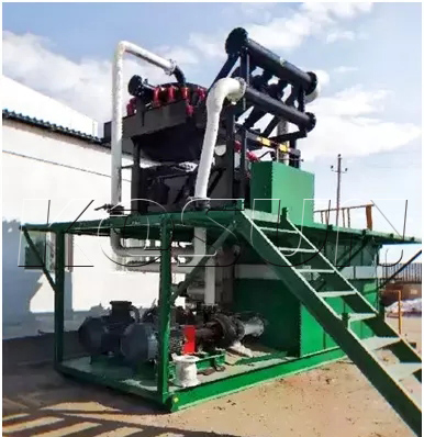 Drilling mud cleaner system
